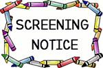 Screening Notice