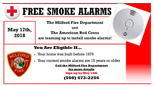 free smoke alarms